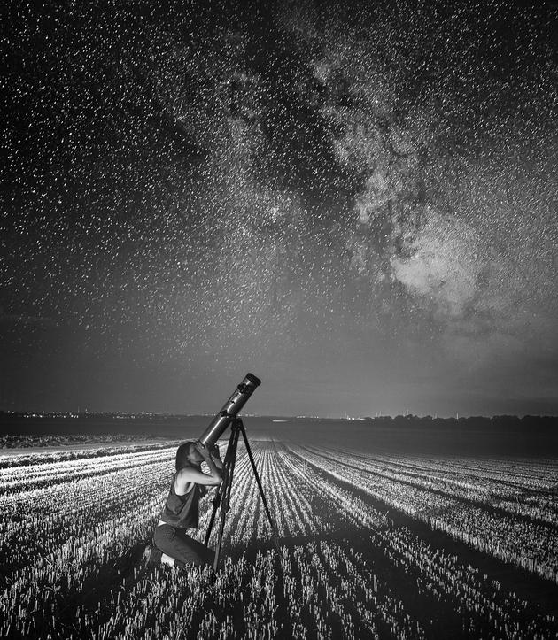 Licht und Schatten | Sternengucken für Fortgeschrittene  Light and Shadow | Advanced star gazing