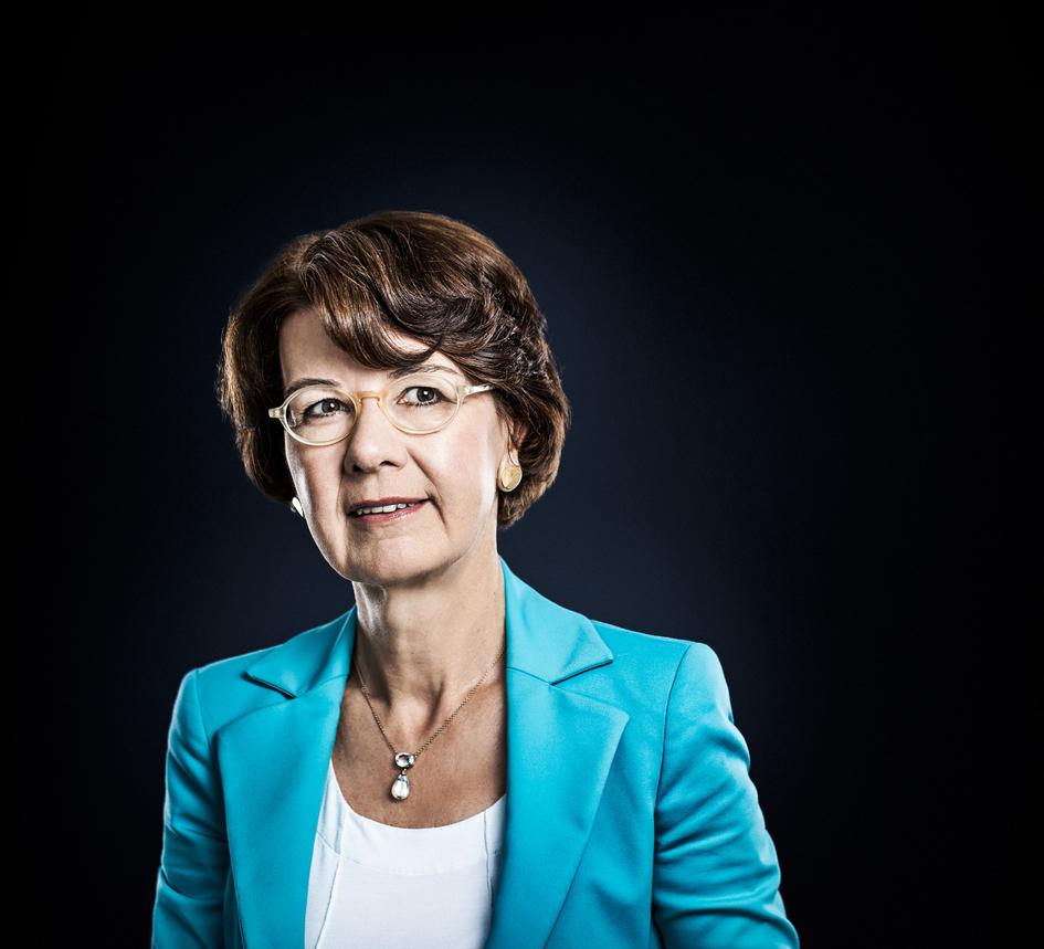 Dr. Marie-Luise Wolff-Hertwig Vorstandsvorsitzende der HEAG Südhessische Energie AG (HSE) in Darmstadt