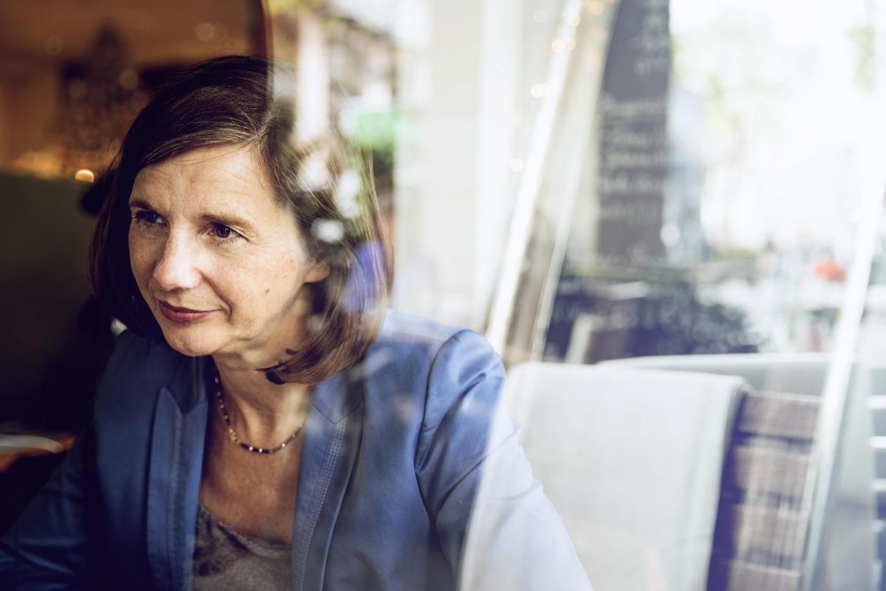 Katrin Göring-Eckardt; die Grünen, Strassen Wahlkampf, Köln,